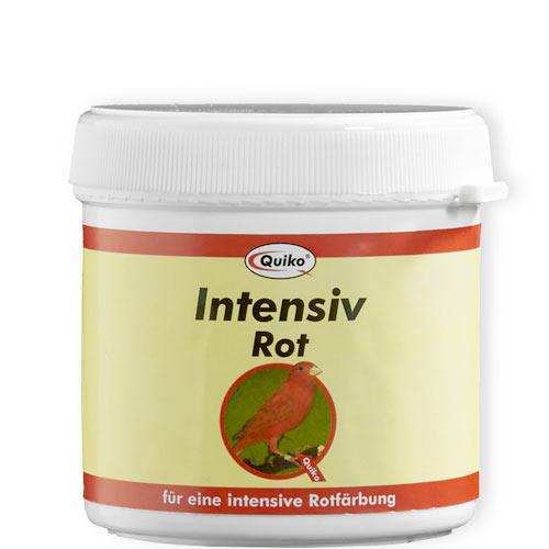 Intensiv rot